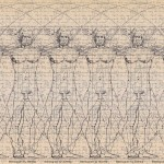 Stereogram by 3Dimka Vitruvian Man